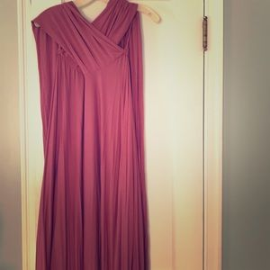 Floor length Lulus 24-ways wrap dress